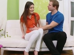 Alluring legal age teenager gal meets her boyfriend and engages in an adult meet n fuck action.