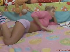 Olya sits in daybed in a pink sweater and pages throughout a book whilst this chick waits for her guy to show up. SheтАЩs horny and getting a little despairing for raunchy release. HeтАЩs the solely one that can bring her the joy that chick seeks! After awaiting too lengthy this pretty teenager pulls her pants off and masturbates, juicing up her fur pie for when this chab shows up. The muscular youthful guy lastly comes into the bedroom and out of saying much this guy plays with her bawdy cleft, generating even more sloppy wetness down there so the two of 'em can truly engage in the bawdy play they dream of. SheтАЩs going to have great legal age teenager sex and that tanned and constricted body looks outrageously sexy throughout. Her tummy is utter perfection! The sweater fetish fans will be delighted to know that that chick keeps it partially on throughout the set. The last position is her on top riding hard and that chick looks so great as that chick really bounces hard.