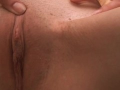 Taking a shower is a sexy process for playgirl who has snatch itching
