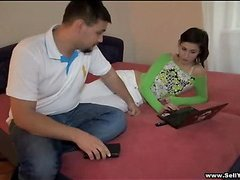 You should make no doubt of me this naughty teen cutie that was sold by her boyfriend