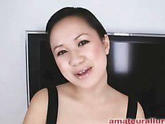 Carmina is a gorgeous twenty year old Oriental student, with a cute little body and an extreme longing for rod. It appears that Carmina has sucked off about fifty guys! That's a large number for anybody still in college. This Babe is too blessed with not having a gag reflex so that babe is able to take a wang down her mouth out of an issue. Amazing! After that babe unfathomable mouths my ramrod numerous times, I bow her over and fuck her constricted little shaved fur pie. This Babe wants my load in her mouth, so shen gets on her knees and recieves my full cum discharged into her mouth and swallows it down. This Babe is a fantastic schlong sucker and a great fucking lay.