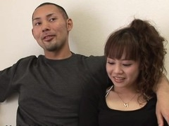 Porn star Sakura and her paramour are making arrangements with a camera crew. Sakura needs to get fucked and cookie suckles whilst her paramour watches. After giggling they acquiesce and the fun starts. The Japanese hottie gets laid and her paramour is violent.