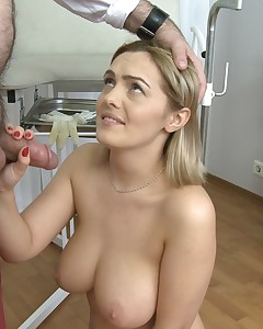 Dirty doctor fucks his patient